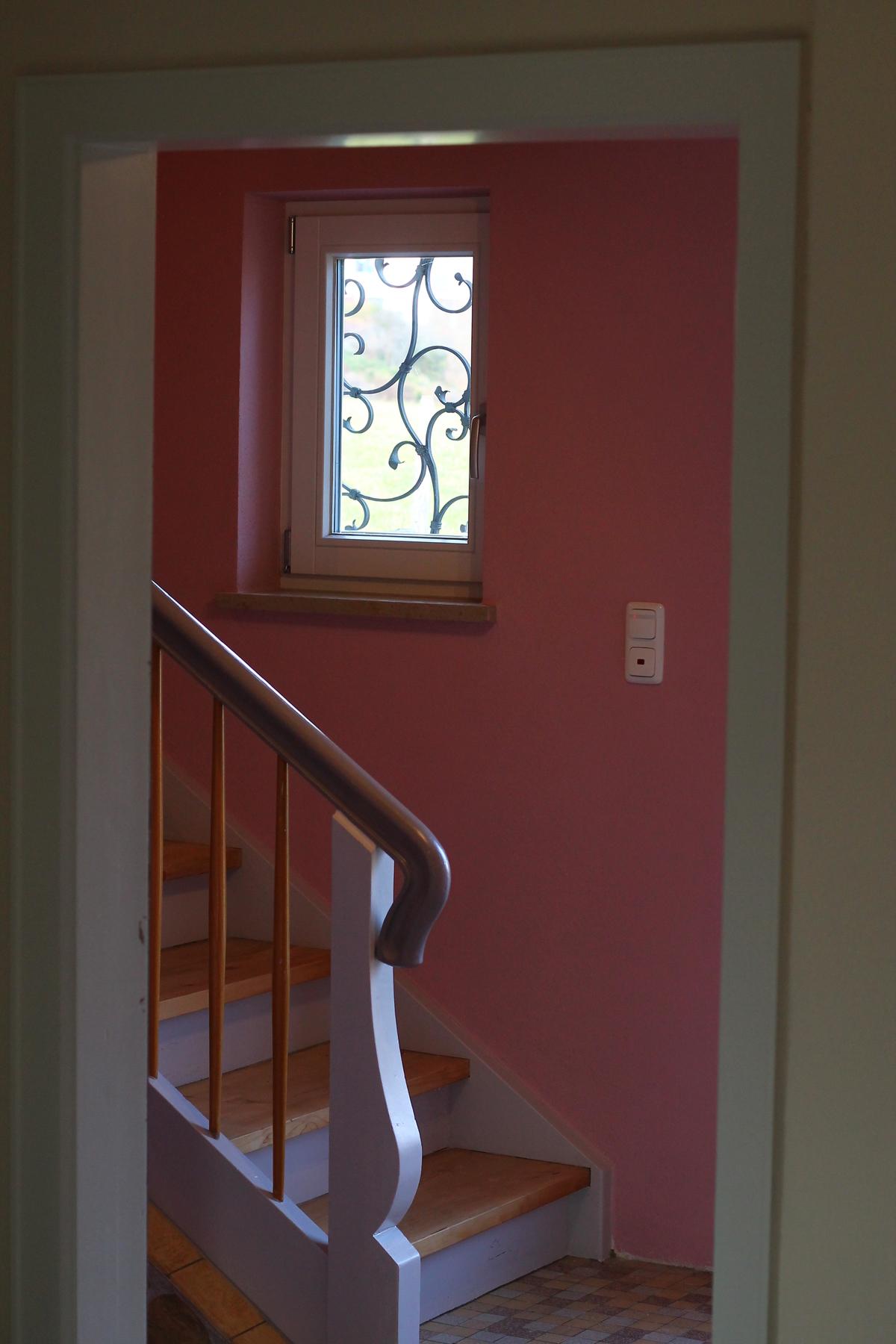Ferienhaus Treppenaufgang