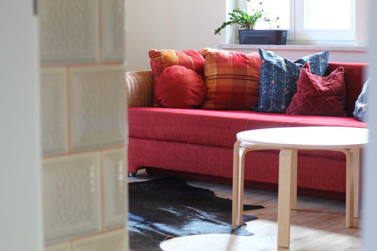 Ferienhaus Sofa