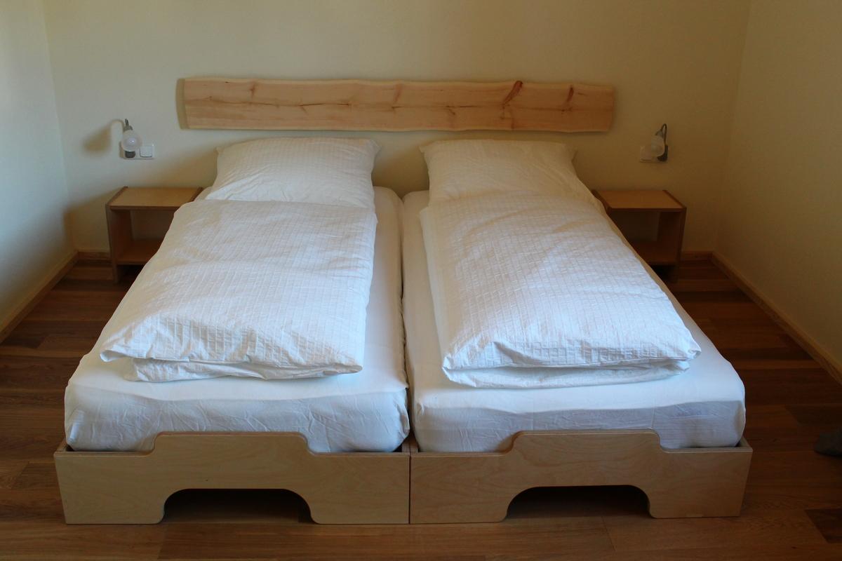 Ferienhaus Bett 02