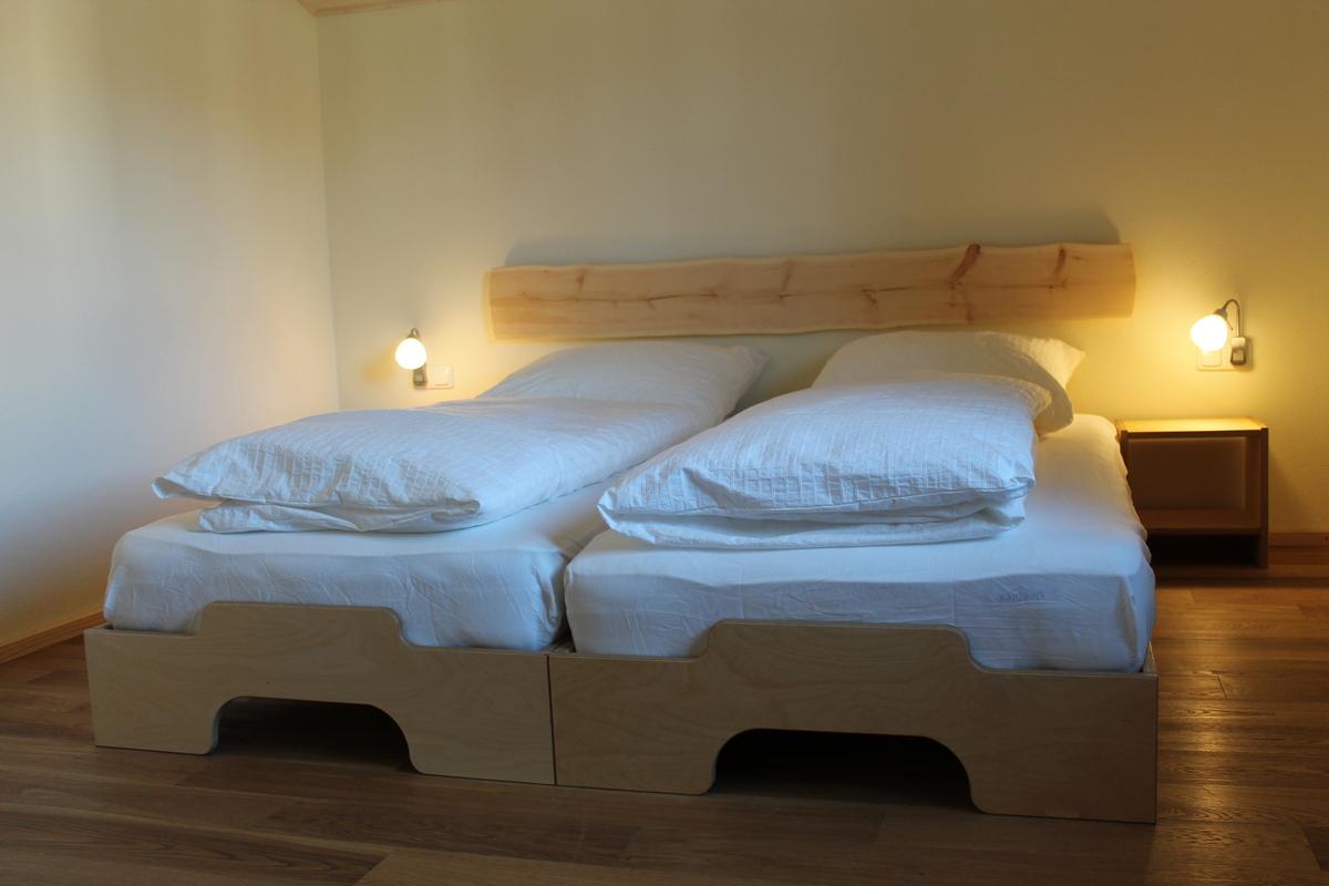 Ferienhaus Bett 03