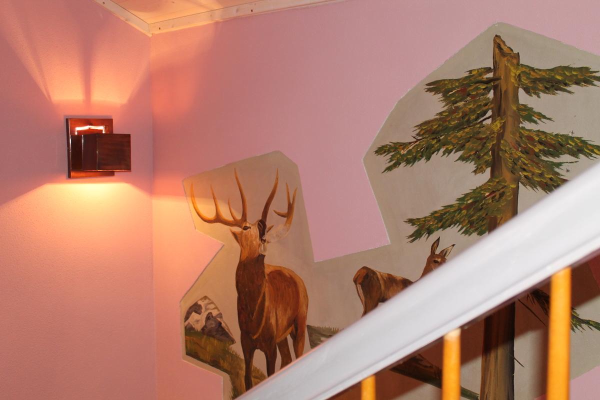 Ferienhaus Treppenabgang 02