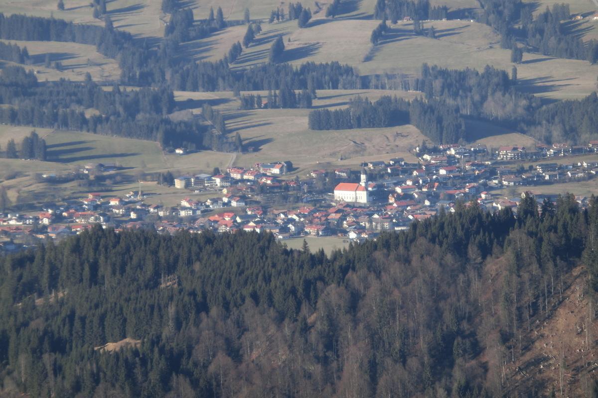 Das Allgäu in der Umgebung von Wertach 08